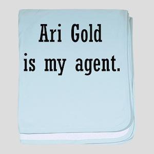 AriGoldAgent2 baby blanket