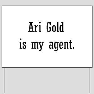 AriGoldAgent2 Yard Sign