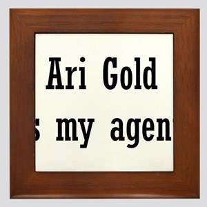 AriGoldAgent2 Framed Tile