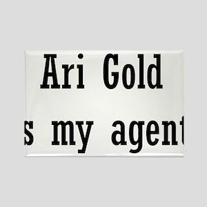 AriGoldAgent2 Rectangle Magnet