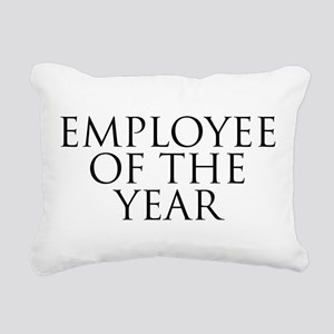 Employee Of The Year Rectangular Canvas Pillow