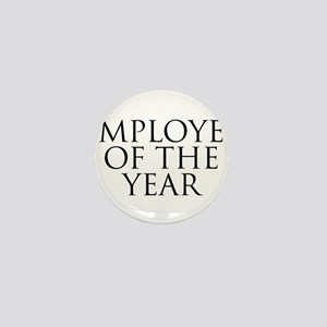 Employee Of The Year Mini Button