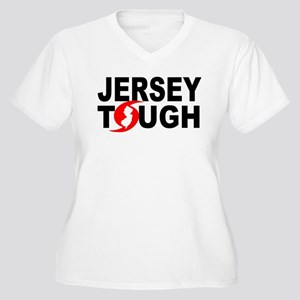 Jersey Strong Women's Plus Size V-Neck T-Shirt