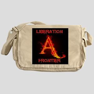 Animal Liberation Frontier Logo Messenger Bag