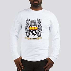 Clemons Family Crest - Clemons Long Sleeve T-Shirt