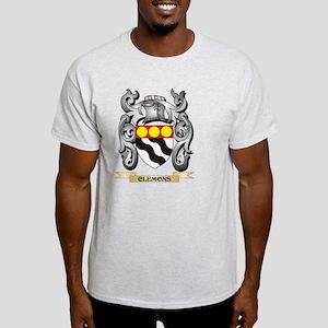 Clemons Family Crest - Clemons Coat of Arm T-Shirt