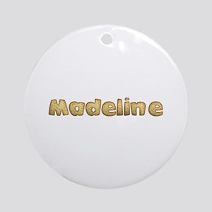 Madeline Toasted Round Ornament