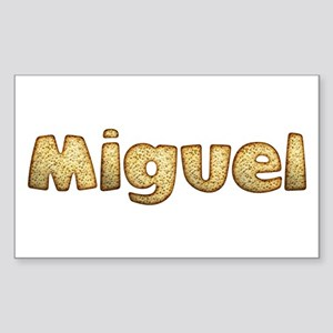 Miguel Toasted Rectangle Sticker