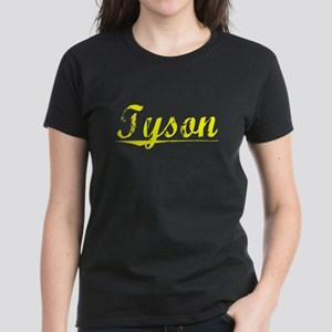 Tyson, Yellow Women's Dark T-Shirt