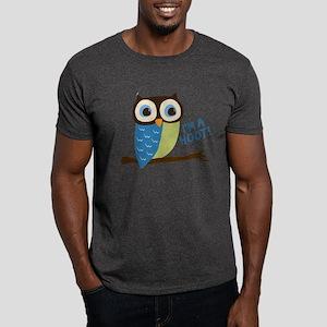 Owl Art I'm A Hoot Dark T-Shirt