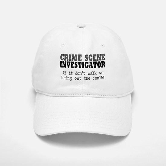 CSI Chalk Lines Baseball Baseball Cap