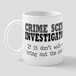 CSI Chalk Lines Mug