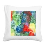 Breach of Containment Art Square Canvas Pillow