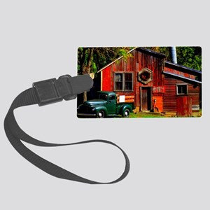 Ye Olde Mill Large Luggage Tag