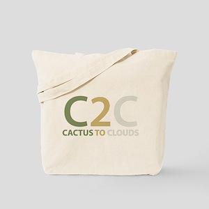 Cactus to Clouds Tote Bag