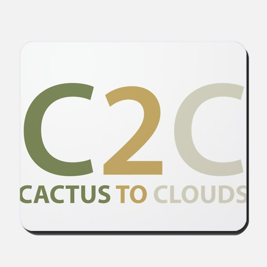 Cactus to Clouds Mousepad