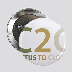 """Cactus to Clouds 2.25"""" Button"""