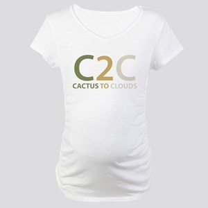 Cactus to Clouds Maternity T-Shirt