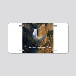 Yellowstone National Park Aluminum License Plate