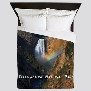 Yellowstone National Park Queen Duvet