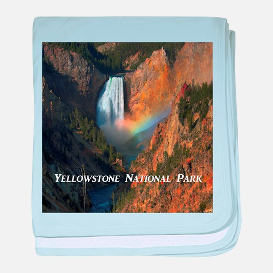 Yellowstone National Park baby blanket