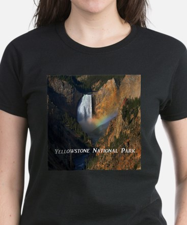 Yellowstone National Park Women's Dark T-Shirt