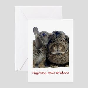 somebunny2 Greeting Cards