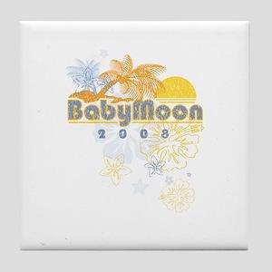 Babymoon Tile Coaster