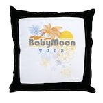 Babymoon Throw Pillow