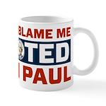 I Voted For Ron Paul Mug