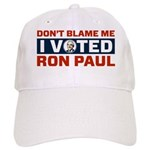 I Voted For Ron Paul Cap