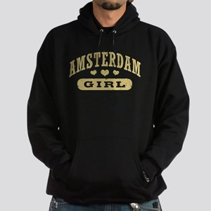 Amsterdam Girl Hoodie (dark)