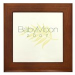 BabyMoon Leaf 2007 Framed Tile