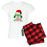 Christmas Owl Hoo Hoo Hoo Women's Light Pajamas