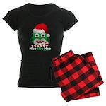 Christmas Owl Hoo Hoo Hoo Women's Dark Pajamas