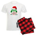 Christmas Owl Hoo Hoo Hoo Men's Light Pajamas