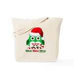 Christmas Owl Hoo Hoo Hoo Tote Bag