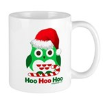 Christmas Owl Hoo Hoo Hoo Mug