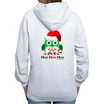 Christmas Owl Hoo Hoo Hoo Women's Zip Hoodie