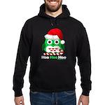 Christmas Owl Hoo Hoo Hoo Hoodie (dark)