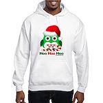 Christmas Owl Hoo Hoo Hoo Hooded Sweatshirt