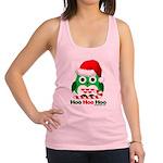 Christmas Owl Hoo Hoo Hoo Racerback Tank Top