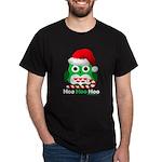 Christmas Owl Hoo Hoo Hoo Dark T-Shirt