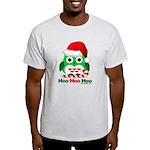 Christmas Owl Hoo Hoo Hoo Light T-Shirt