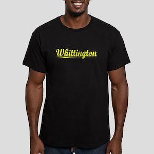 Whittington, Yellow Men's Fitted T-Shirt (dark)