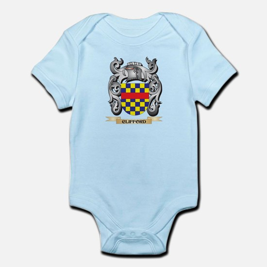 Clifford Family Crest - Clifford Coat of Body Suit