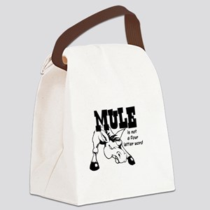 ANGRY MULE Canvas Lunch Bag