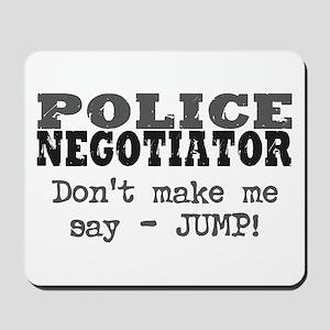 Police Negotiator Mousepad