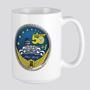 CVN 65 Inactivation! Large Mug