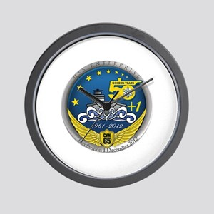 CVN 65 Inactivation! Wall Clock